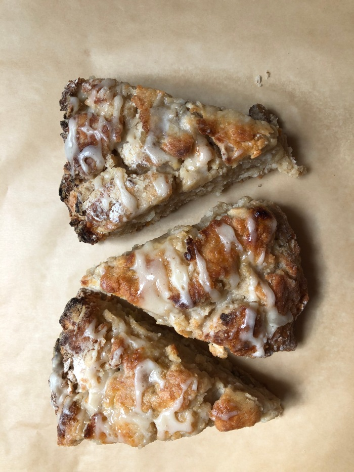 Banana-nut Scones